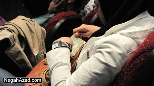راز دلار رائفی پور همایش بسیج دانشجویی دانشگاه آزاد قزوین